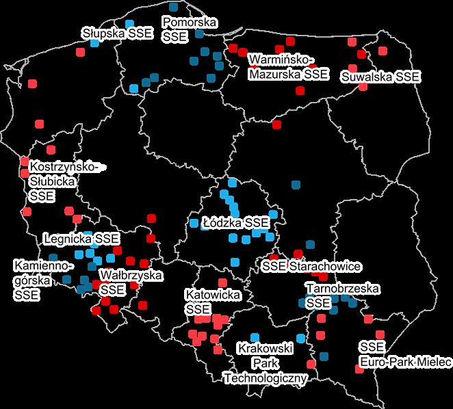 specjalne strefy ekonomiczne w polsce